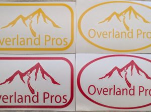 Overland Pros Sticker Small