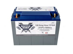 100 Ah 12V LiFePO4 Deep Cycle Battery