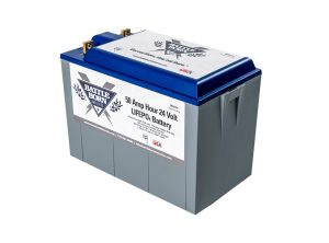50 Ah 24 V LiFePO4 Deep Cycle Battery