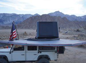Wraptor 6K- 270 Degree Freestanding Vehicle Mounted Awning